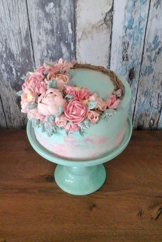 Flower cakes 21