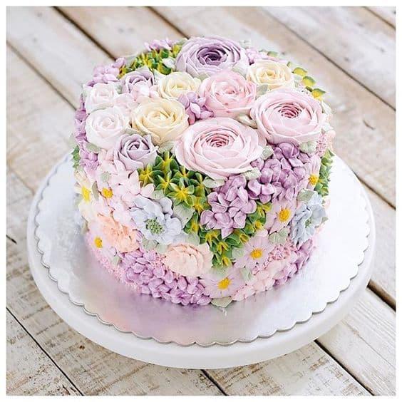 Flower cakes 17