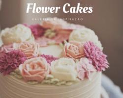 Flower cakes 1