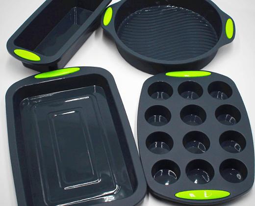 Sorteio: Conjunto de Formas de Silicone da BakerShop 1
