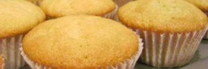 Receita básica de cupcake