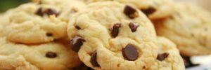 Cookies de qualquer sabor com mistura para bolo